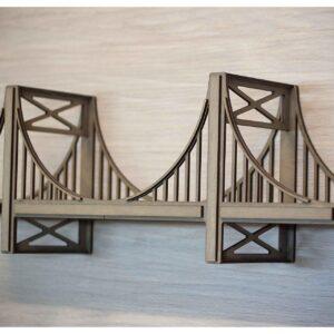 Полка мост для коллекционных авто
