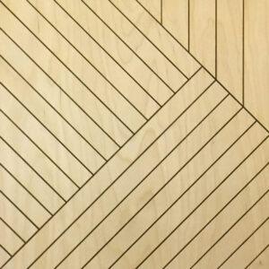 Стеновая 3D панель геометрия