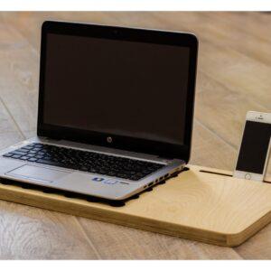 Подставка для ноутбука с рабочей зоной мыши